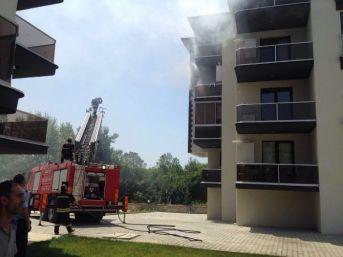 Bartın'da Korkutan Ev Yangını