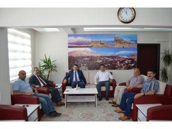 Kardeş Belediye Adilcevaz'da İncelemelerde Bulundu