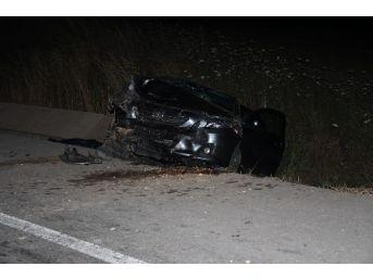 Çanakkale'de Trafik Kazası: 1 Ölü, 2 Yaralı
