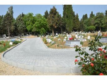 Yeni Mezarlık Alanında Yürüyüş Yolları Tamamlandı