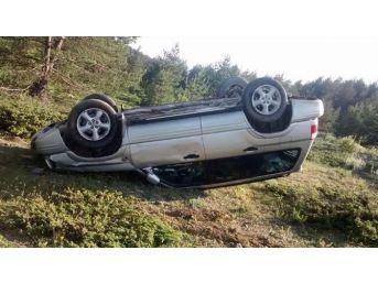 Esnaf Odası Başkanı Trafik Kazası Geçirdi