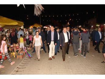 Başkan Keleş Ramazan Sokağını Gezdi