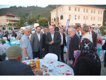 Bilim, Sanayi Ve Teknoloji Bakanı Özlü, Akçakoca'da İftara Katıldı