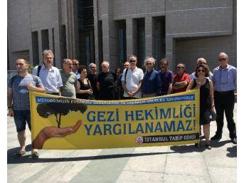Sağlık Bakanlığı'nın İstanbul Tabip Odasına Açtığı Gezi Davasının Görülmesine Başlandı