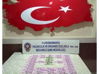Kahramanmaraş'ta Piyasaya Sahte Para Süren 2 Kişi Yakalandı