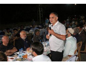 Yahyalı Belediyesi Fetullah Mahallesi'nde İftar Verdi