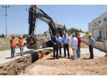 Kırşehir'de Altyapı Çalışmaları Devam Ediyor