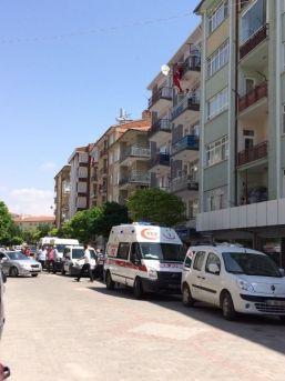Kırşehirli Şehidin Evine Türk Bayrakları Asıldı