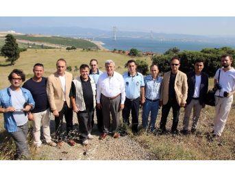 """Başkan Karaosmanoğlu, """"osman Gazi Köprüsü Tarihe Düşülen Nottur"""""""