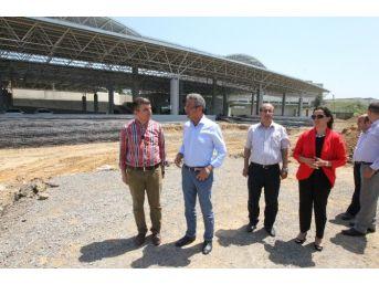Başkan Köşker, Aksiyon Parkı Çalışmalarını İnceledi