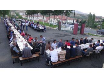 Doğanşehir Açık Cezaevi'nde İftar Ve Sertifika Töreni