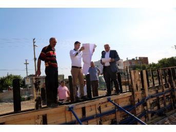 Başkan Tollu, Belediye Çalışmalarını Yerinde İnceledi