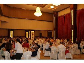 Mersin'den Başka İllere Atanan Hakim Ve Savcılara Veda Yemeği