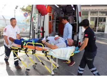 Bodrum'da 20 Araç Birbirine Girdi: 5 Yaralı