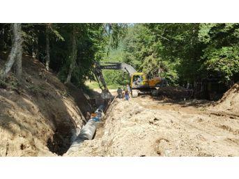 Başkan Toçoğlu, Akçay Barajını İnceledi