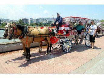Samsun Sahilinde Nostaljik Gezi