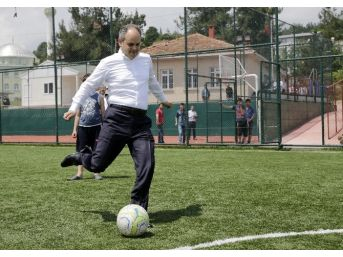 Samsun'a 25 Mahalle Tipi Spor Tesisi Yapılıyor