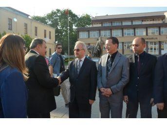 """Bakan Veysel Eroğlu: """"sinop'a Heybemiz Dolu Geldik"""