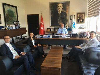 Optimed Hastanesi Yetkililerinden Başkan Albayrak'a Ziyaret
