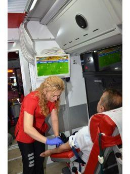 Alaplı'da İftar Sonrası Kan Bağışı