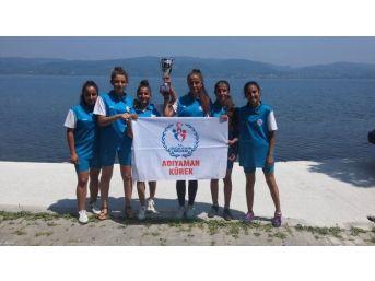 Adıyamanlı Sporcular 1.etap U19 Deniz Küreği Yarışlarında Türkiye 3'sü Oldu
