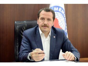 Memmur-sen Genel Başkanı Yalçın Meydana Gelen Terör Saldırılarını Kınadı