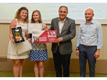 Expo 2016 İçin Bahçe Tasarlayan Öğrenciler Ödüllerini Aldı
