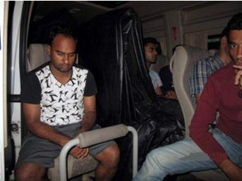 1'i Türk 12 Kaçak Yurt Dışına Çıkamadan Yakalandı