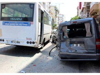 Aydın'da Zincirleme Trafik Kazası: 1 Yaralı
