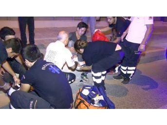 Kuşadası Çevre Yolunda Motosiklet Kazası; 2 Yaralı