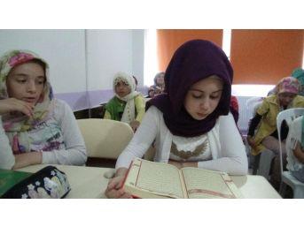 Osmaneli'de Yaz Kur'an Kursları Başladı