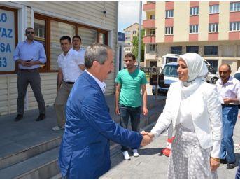 Milletvekili Zehra Taşkesenlioğlu Adilcevaz'a Geldi