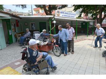 Kestel Belediyesinden Engelli Vatandaşlara Akü Takviyesi