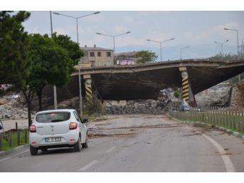 Mudanya Köprüsü Yıkıldı