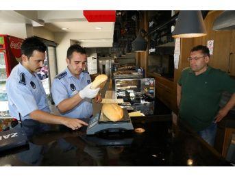Pamukkale'de Zabıta Fırını Denetimlerini Sürdürüyor