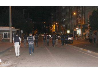Diyarbakır Polisinden Helikopter Destekli Huzur Ve Güven Operasyonu