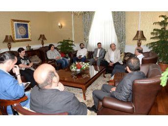 Dagc'den Vali Azizoğlu'na Ziyaret