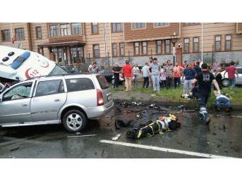Uzundereli Sağlık Personeli Trafik Kazasında Hayatını Kaybetti