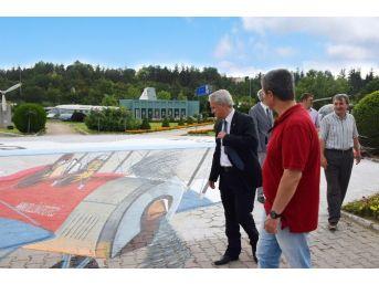 Rektör Gündoğan'dan Havacılık Parkı'na Ziyaret