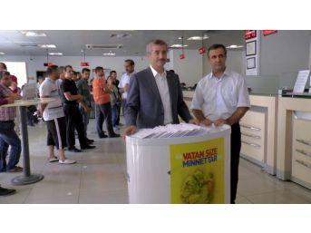 Belediye Başkanından 127 Sınır Karakoluna Bayram Tebriği
