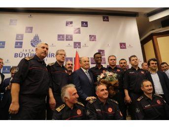 Kadir Topbaş, Belediye Personeli İle Bayramlaştı