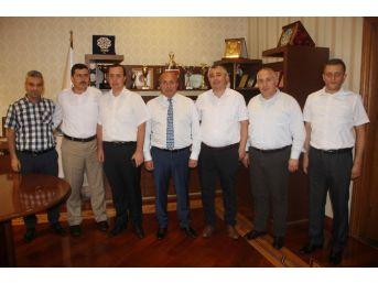 Sendika Temsilcilerinden Başkan Arslan'ı Ziyaret