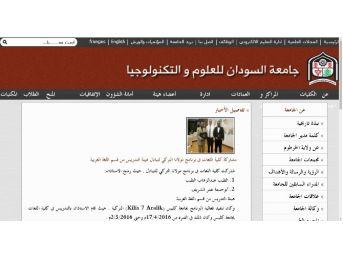 Misafir Akademisyenler Sudan'da Haber Oldu