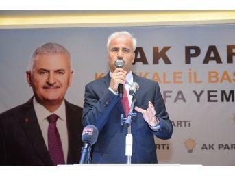 Ak Parti Teşkilatları Vefa Yemeğinde Buluştu
