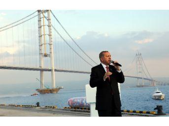 Osmangazi Köprüsü, Cumhurbaşkanı'nın Katıldığı Törenle Trafiğe Açıldı