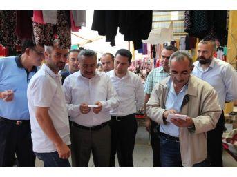 Seydişehir Belediyesi Pazarcıları El Terminali İle Takip Ediyor