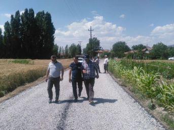Seydişehir'de Asfalt Çalışmaları Devam Ediyor