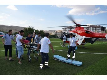 Hava Ambulansı Bir Can Kurtardı