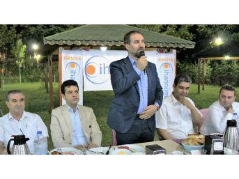 Başbakan Başdanışmanı Şen, Manisa'da Sahur Yaptı