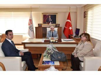 Vali Çakacak'tan, Aile Ve Sosyal Politikalar İl Müdürlüğüne Ziyaret